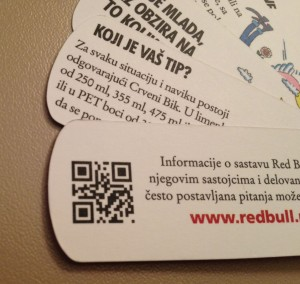 "RedBull ""empty"" QR Code"