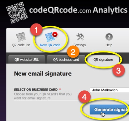 Code qr code blog how to create mail signature qr code colourmoves