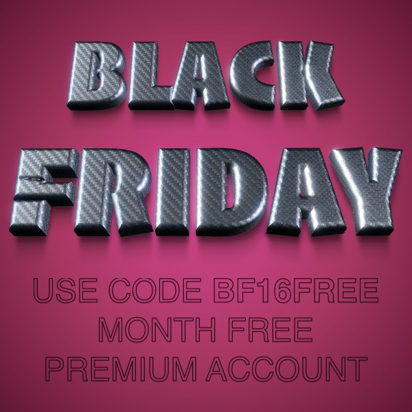 Black Friday free Premium account month