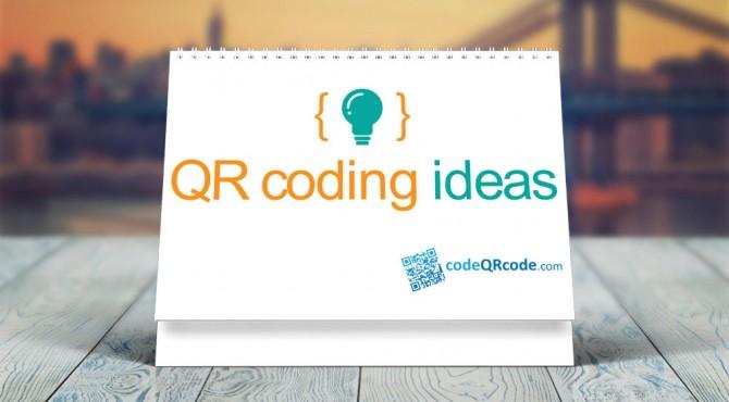 5 QR coding ideas