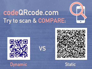 Dynamic vs static QR code